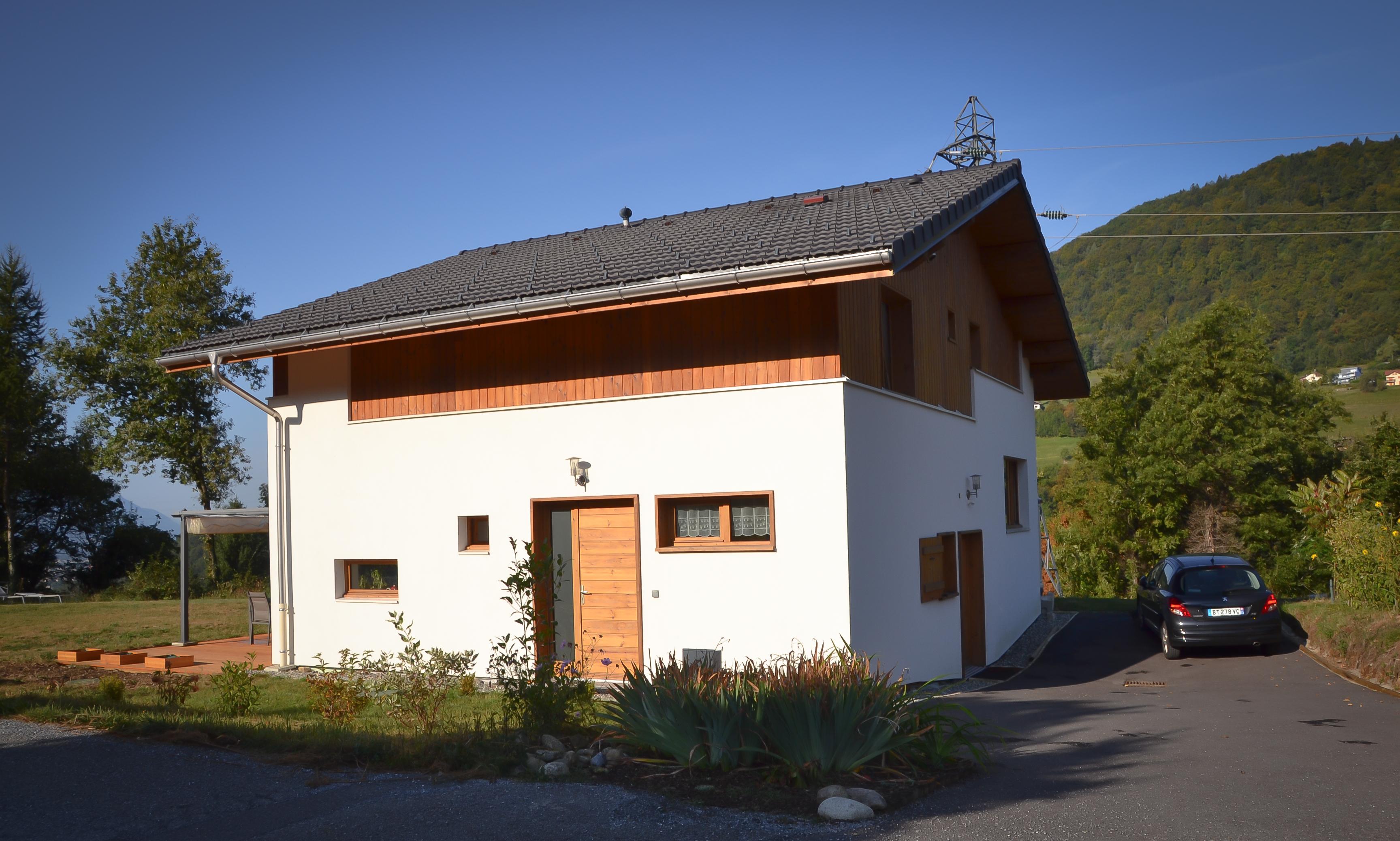Maisons chalets aur lie rosset architecte moutiers for Architecte albertville