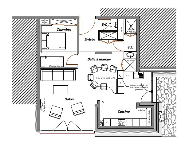 Am nagements int rieurs aur lie rosset architecte for Architecte albertville